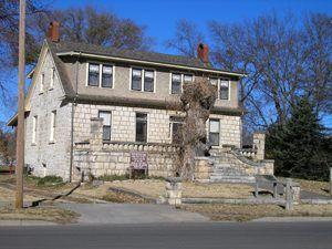 Council Grove, Kansas Post Office Oak