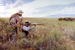 Game hunters by Craig Tennant