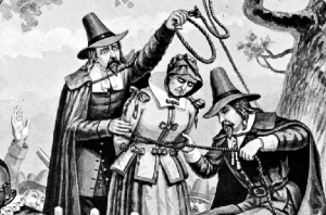 Hanging a Witch.