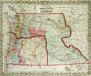 Washington Territory, 1860