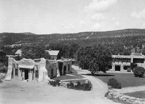 Apache Inn at the Valley Ranch, Pecos, New Mexico, about 1930