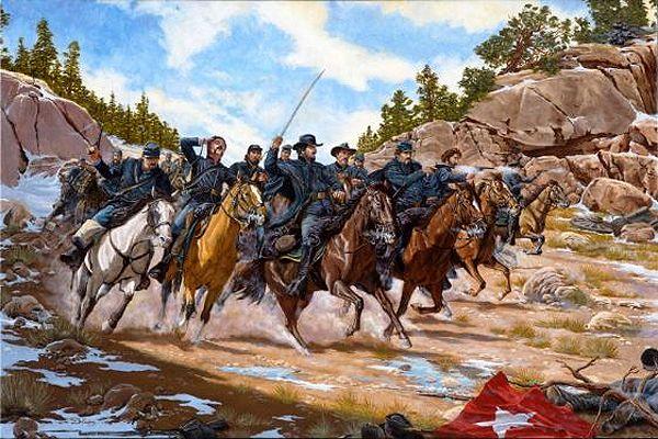 Battle of Glorietta Pass, New Mexico