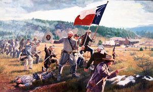 Civil War Battle at Pigeon's Ranch, 1862