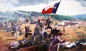 Civil War Battle at Pigeon's Ranch, 1862