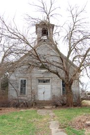 Bavaria, KS - Church. Kathy Weiser-Alexander.
