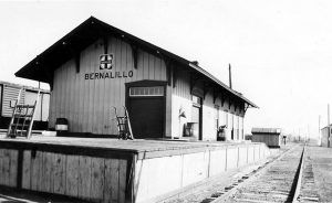 Bernalillo, New Mexico Depot