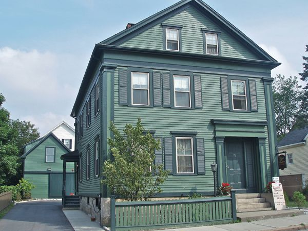 The Borden Murder House today serves as a Bed & Breakfast and Museum