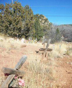 Canoncito, New Mexico Cemetery