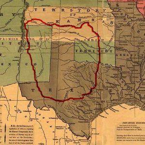 Comanchero Trade Map