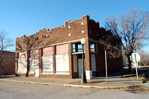 Old Drugstore, Depew, Oklahoma