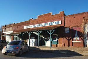 Spangler's Grocery, Depew, Oklahoma