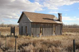 Doyle Settlement, Colorado Schoolhouse