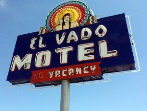 El Vado Motel Sign, Albuquerque, New Mexico