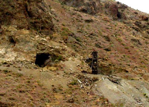 Mining Shaft in Eldorado Canyon, April 2005, David Alexander