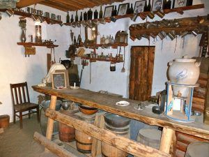 Fort Lupton, Colorado Tavern Room, courtesy Fort Wiki