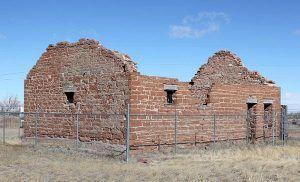 Fort Sanders, Wyoming Guardhouse today, courtesy Wikipedia