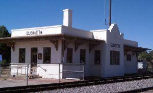 Glorieta, New Mexico Post Office courtesy Mapio