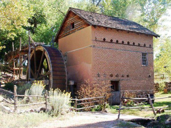 Working Mill at El Rancho de las Golondrinas, courtesy Inside Santa Fe