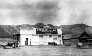 The Gross, Kelly & Company store operated in Rowe between 1910 and 1847.