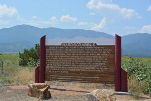 Hardscrabble Historic Marker, Colorado