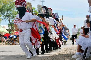 Las Fiestas de San Lorenzo in Bernalillo, New Mexico, courtesy Albuquerque Journal