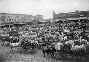 Market Day in Clarksville, Texas