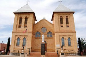 Mesilla, New Mexico Church by Kathy Weiser-Alexander