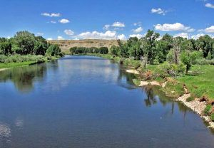 North Platte River in Wyoming