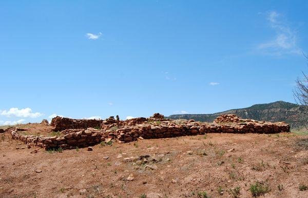 Pecos Pueblo Ruins by Kathy Weiser-Alexander