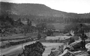 Pigeons Ranch in 1880, by Ben Wittick