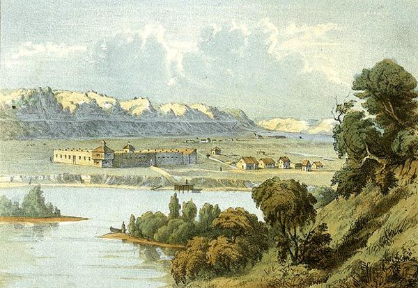 Prairie du Chien, Wisconsin, 1830