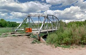 Old Route 66 bridge at San Jose, New Mexico, courtesy Google Maps