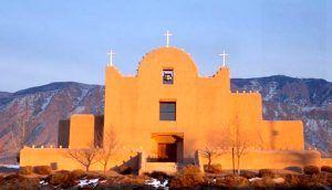 Sandia Pueblo, New Mexico Church