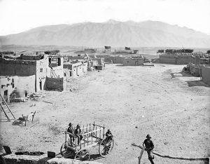 Sandia Pueblo, New Mexico, late 1800s