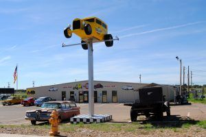 Route 66 Auto Museum in Santa Rosa, New Mexico by Kathy Weiser-Alexander