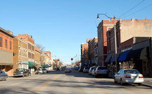 Sapulpa, Oklahoma Main Street
