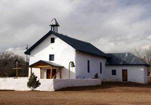 Tecolate, New Mexico Church