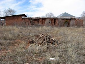 Territorial House, San Miguel, courtesy New Mexico State University