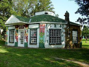 Fiddle House at Totem Pole Park, Foyil, Oklahoma
