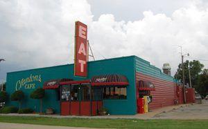 Clanton's Café in Vinita, Oklahoma