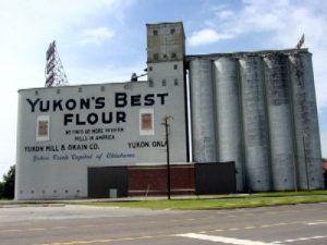 Yukon's Best Flour Elevator in Yukon, Oklahoma