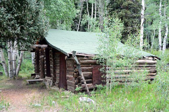 Circa 1880 cabin in Beaver Colorado