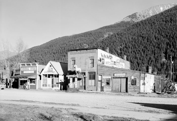 12th & Blair Street, Silverton, Colorado, by the Historic American Buildings Survey.
