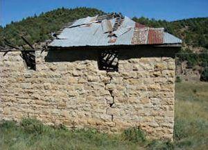 Brilliant, New Mexico Feed Barn, 2010, , 2010, courtesy New Mexico Archaeology