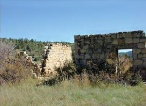 Mule Barns at Brilliant, New Mexico, 2010, courtesy New Mexico Archaeology