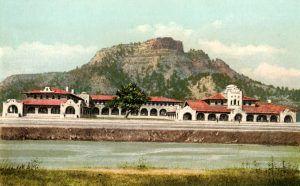 The Fred Harvey Cardenas Hotel in Trinidad, Colorado is gone today.