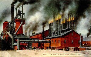 Colorado Fuel & Iron Company Plant in Pueblo, Colorado