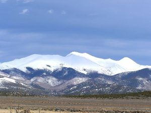 Culebra Peak in the Sangre de Cristo Mountains, Colorado courtesy Wikipedia