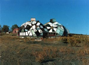 Drop City in Trinidad, Colorado courtesy A.R. Mitchell Museum