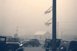 Dust Bowl days in Amarillo, Texas